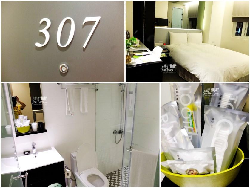 My Room 307 City Inn Hotel Taichung Taiwan - by Myfunfoodiary