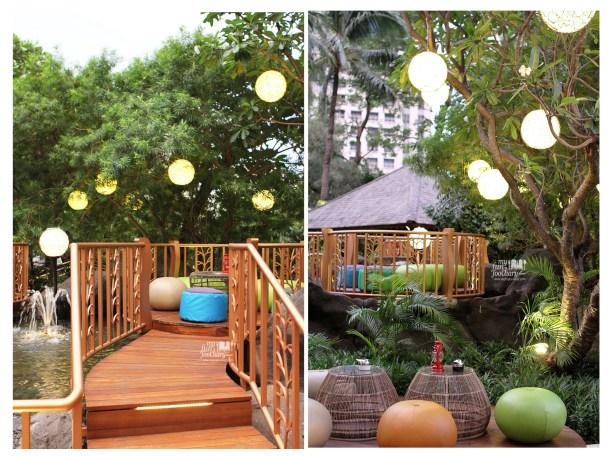 Night View at JimBARan Outdoor Lounge Intercontinental MidPlaza by Myfunfoodiary