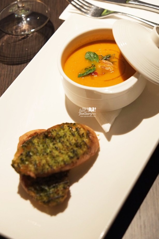 Smoked Tomato Soup at Immigrant Dining Room by Myfunfoodiary