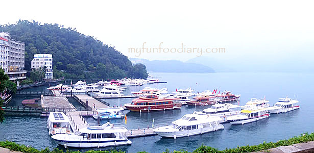 Sun Moon Lake View by Myfunfoodiary