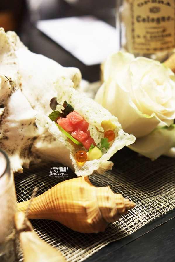 Tuna, Roe, Jalapenos with Anchovy Mayo - Real Food Concept 01 Ocean by Myfunfoodiary 02a