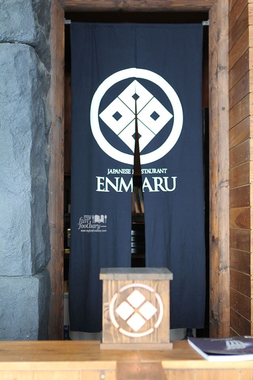 Entrance to Enmaru at Enmaru Restaurant Altitude The Plaza by Myfunfoodiary