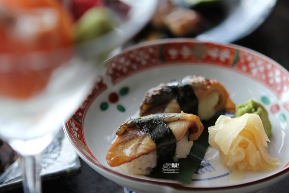Unagi Nigiri Sushi at Enmaru Restaurant Altitude The Plaza by Myfunfoodiary