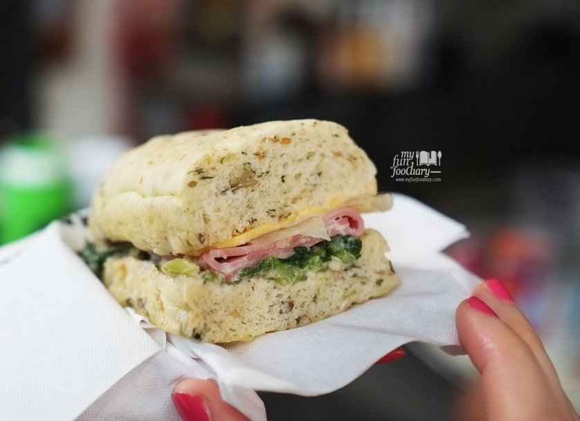 Beef Spinach Sandwich at Starbucks Indonesia by Myfunfoodiary