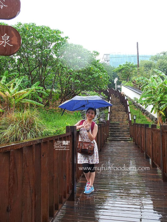 Lady rain at Xinbeitou Taiwan by Myfunfoodiary