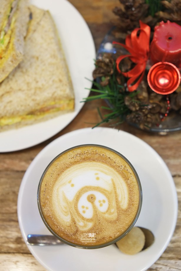 Latte Double Ristretto at Noahs Barn Bandung by Myfunfoodiary