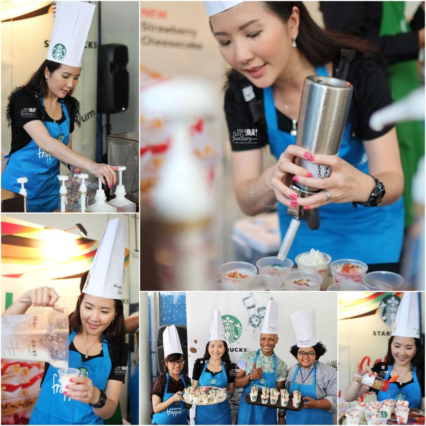 Learning How To Make Starbucks Frappuccino at Starbucks Indonesia by Myfunfoodiary