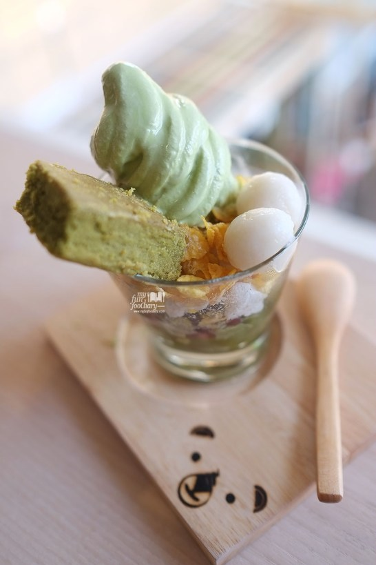 Shiratama Parfait at Shirokuma Japanese Dessert Cafe PIK by Myfunfoodiary