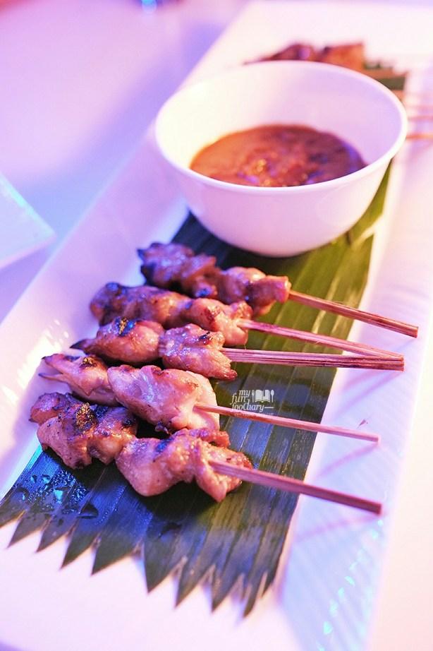 Chicken Satay at BLU Shangri-la Jakarta by Myfunfoodiary