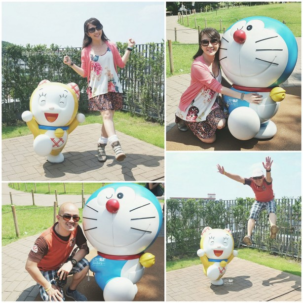 Dancing with Dorami and Hug Doraemon at Doraemon Fujiko Fujio Museum by Myfunfoodiary