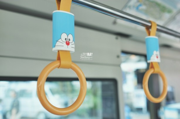 Inside Doraemon Bus Japan by Myfunfoodiary