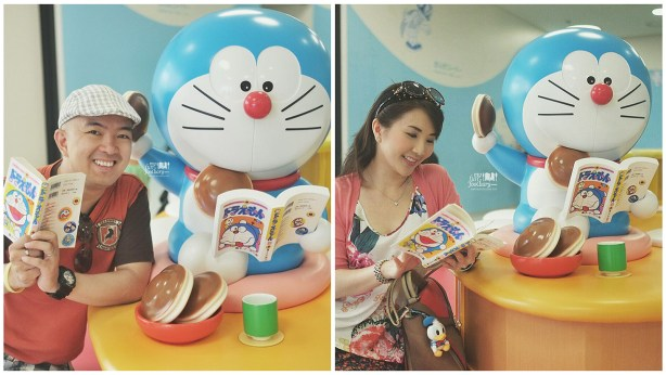 Lets Read together with Doraemon at Doraemon Fujiko Fujio Museum by Myfunfoodiary