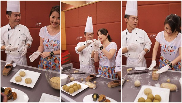 Mullie is Making a Moon Cake with Chef John Chu at JW Marriott Jakarta by Myfunfoodiary