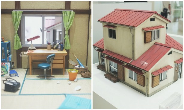 Nobita's House From Outside and Inside View at Doraemon Fujiko Fujio Museum by Myfunfoodiary