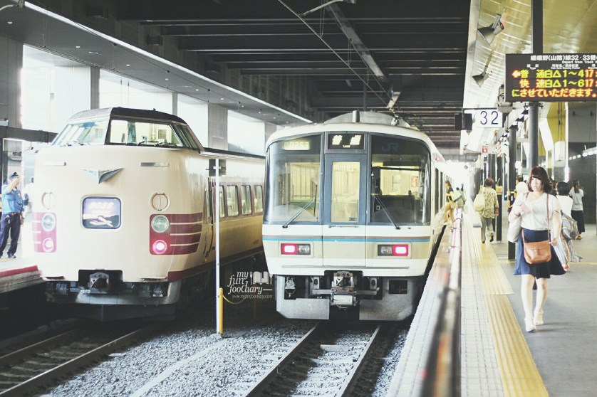 Trains in Japan by Myfunfoodiary