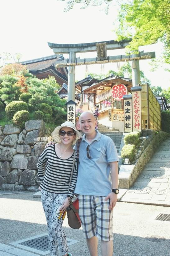 Both of us at Kiyomizudera Temple by Myfunfoodiary