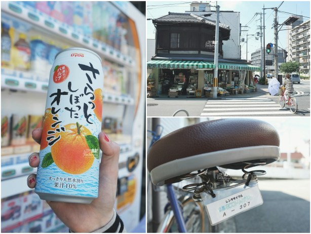 Cold Orange Juice on our way to Fushimi Inari Taisha - Kyoto by Myfunfoodiary