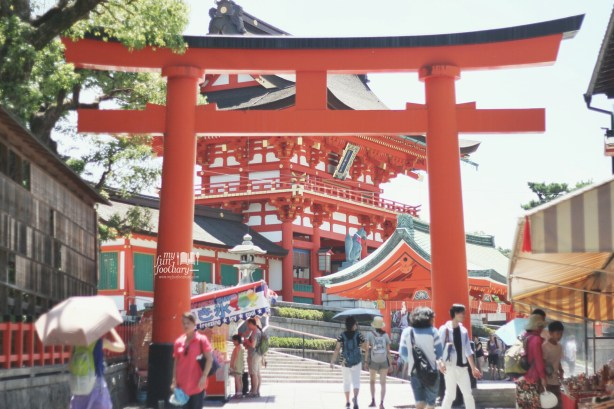 Entrance Gate to Fushimi Inari Taisha by Myfunfoodiary
