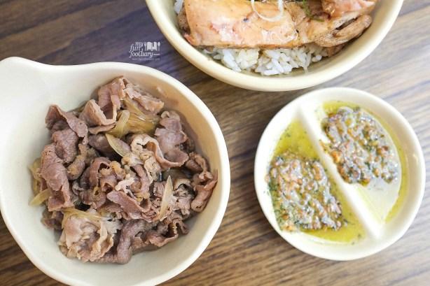 Extra Beef with Garlic Butter Sauce at Donburi Ichiya Lippo Mall Puri by Myfunfoodiary