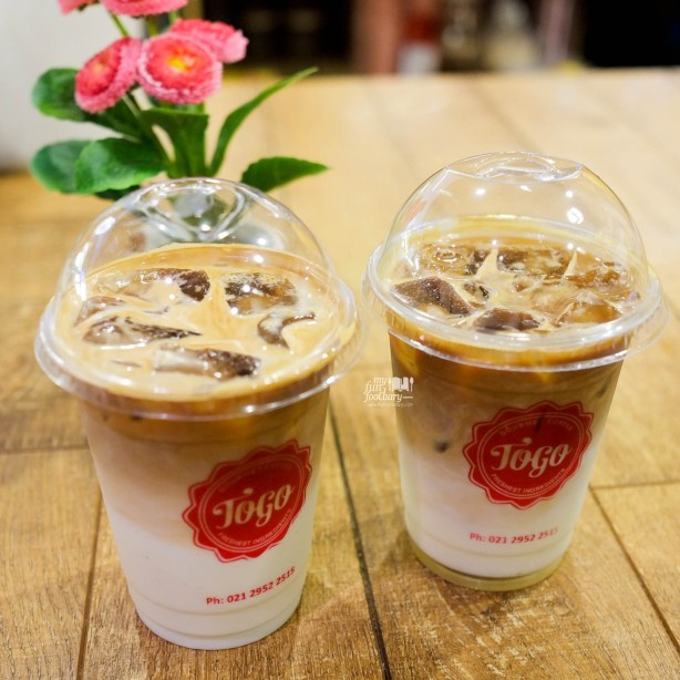 Ice Cappuccino and Ice Hazelnut Latte at Togo Cafe at WTC Sudirman by Myfunfoodiary