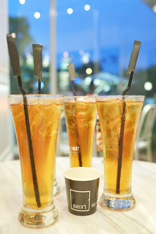Ice Tea at Baker's Gallery KoKas by Myfunfoodiary