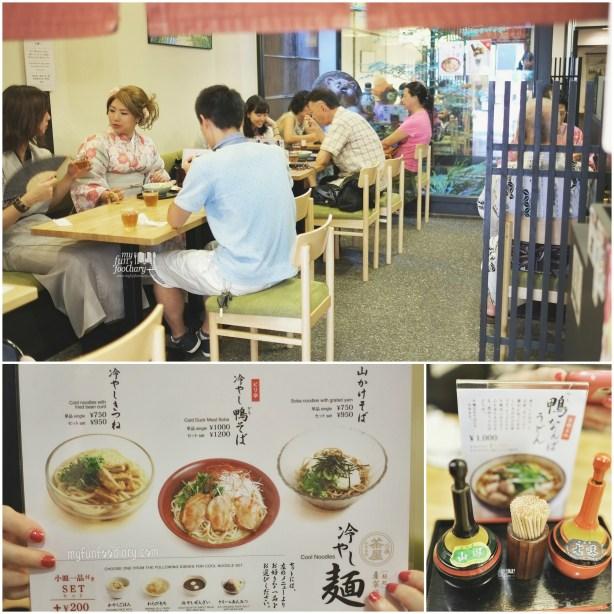 Inside The Restaurant at Kiyomizudera Temple by Myfunfoodiary
