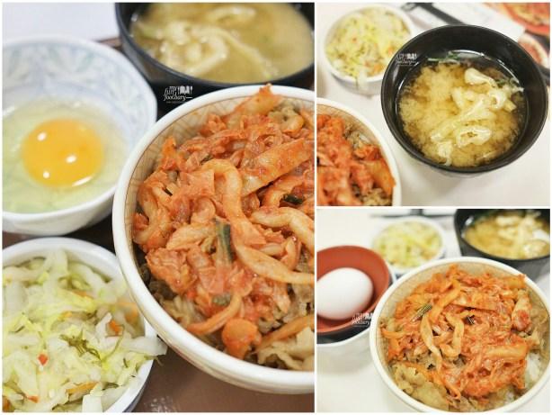 Kimchi Gyudon at Sukiya Gyudon Japan by Myfunfoodiary collage
