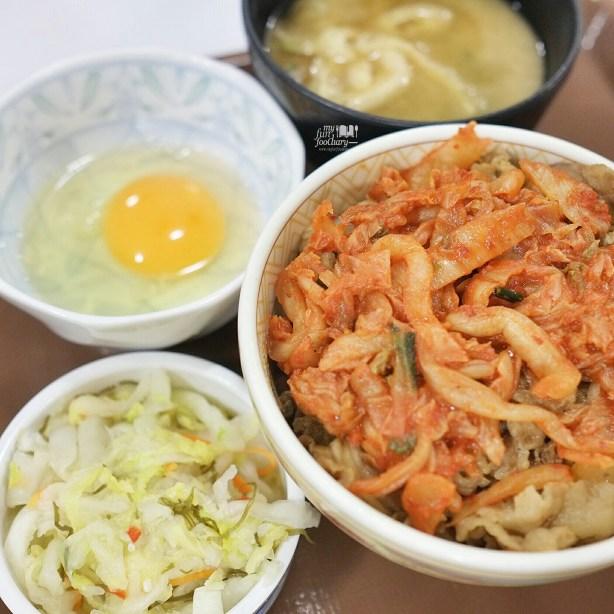 Kimchi Gyudon at Sukiya Gyudon Japan by Myfunfoodiary