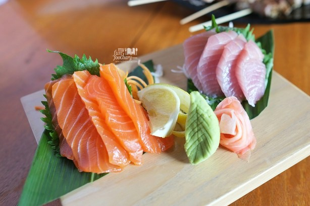 Mix Sashimi Platter at Kei Sushi SCBD by Myfunfoodiary