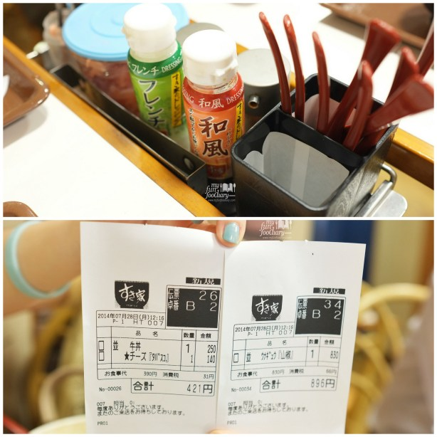My Bills at Sukiya Gyudon Japan by Myfunfoodiary
