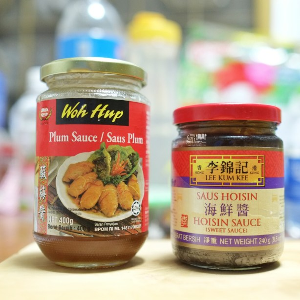 Plum Sauce and Hoisin Sauce at home - by Myfunfoodiary