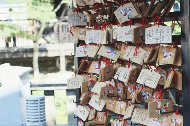 Prayer Message at Kiyomizudera Temple by Myfunfoodiary