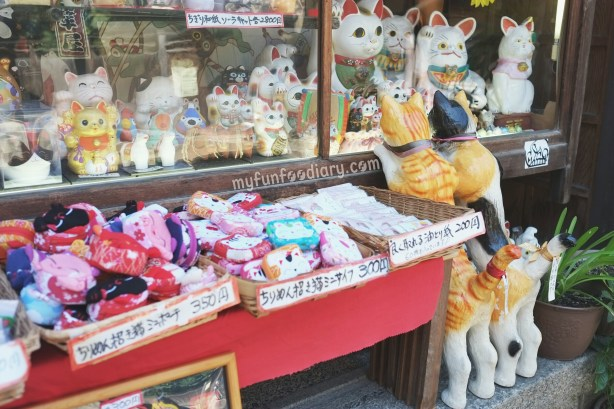 Bought some Souvenirs from this shop at Kiyomizudera Temple by Myfunfoodiary
