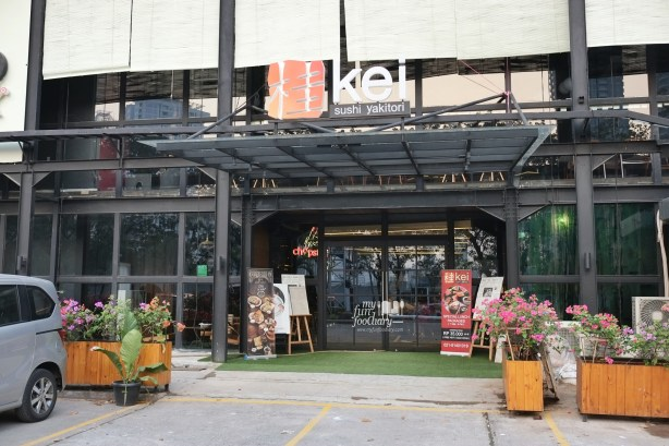 Tampak Depan at Kei Sushi SCBD by Myfunfoodiary