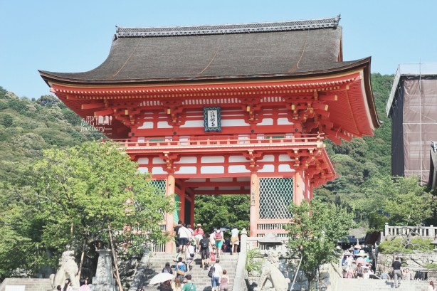 The Main Hall at Kiyomizudera Temple by Myfunfoodiary