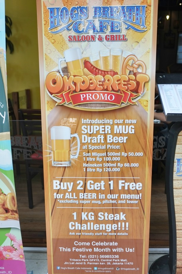 October Fest at Hogs Breath Cafe by Myfunfoodiary