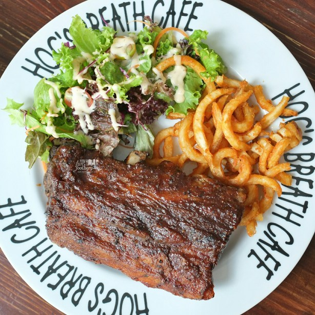 Smoked Pork BBQ Ribs at Hogs Breath Cafe by Myfunfoodiary 01