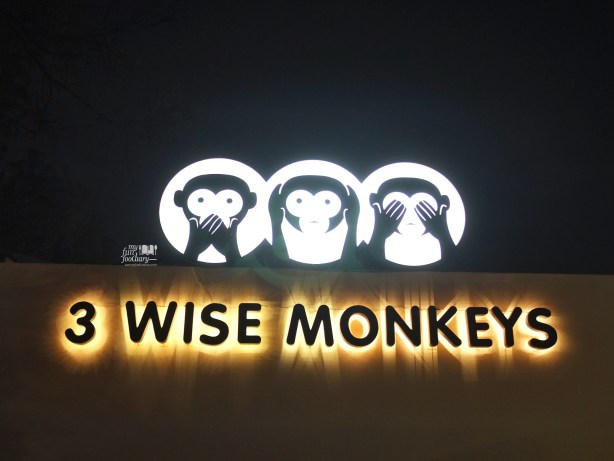 3 Wise Monkeys Signboard by Myfunfoodiary