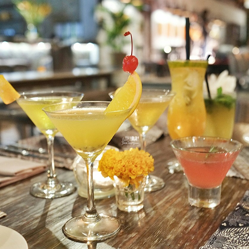 Cocktails and Mocktails at Petani Restaurant Alaya Resort Ubud by Myfunfoodiary