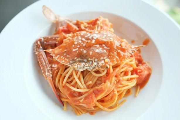 Crab Spaghetti at Shirayuki PIK by Myfunfoodiary