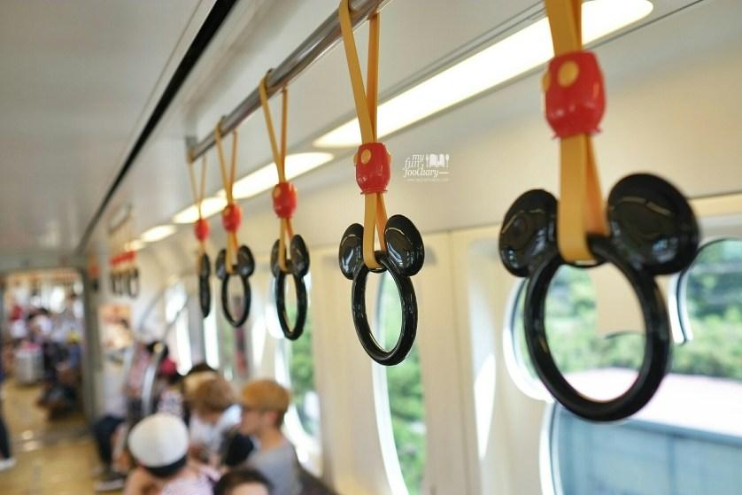 Disney Train from the Resort at Tokyo Disneyland - by Myfunfoodiary