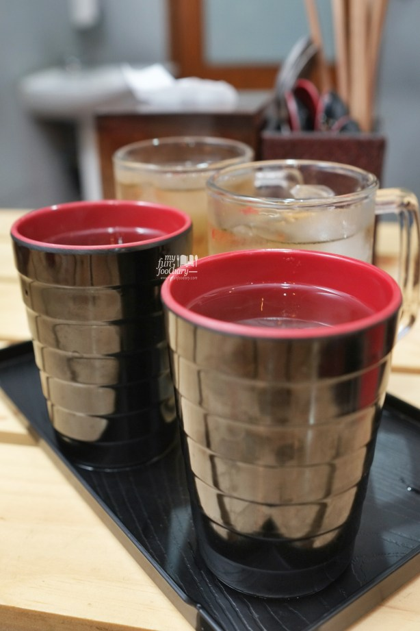 Hot and Cold Ocha FREE at Tomio Japanese Izakaya by Myfunfoodiary