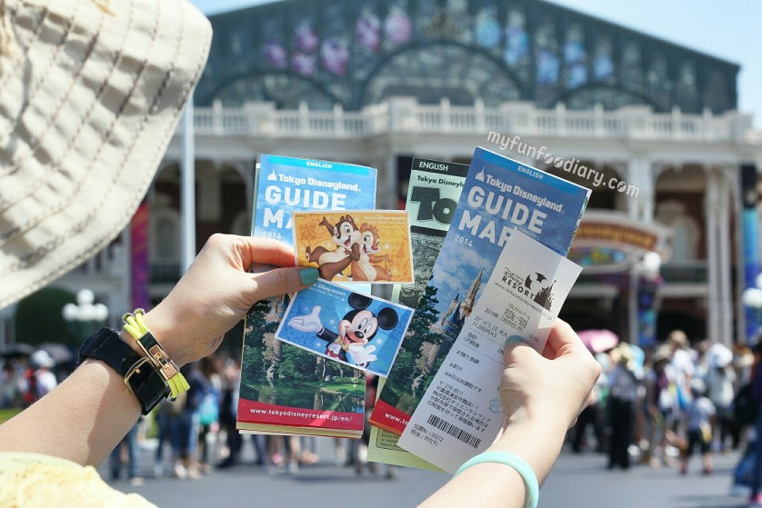 Yeay We Got Our Tokyo Disneyland Tickets and Tokyo Disneysea - by Myfunfoodiary