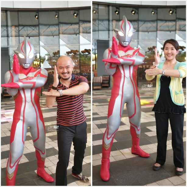 Andy and Mullie with Ultraman Mebius - by Myfunfoodiary