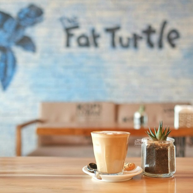 Cafe Latte at The Fat Turtle by Myfunfoodiary