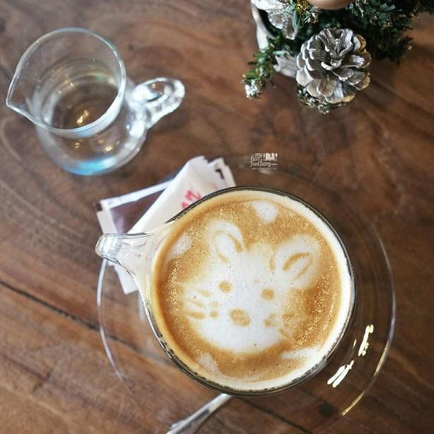 Cappuccino at Monokrom Bali by Myfunfoodiary