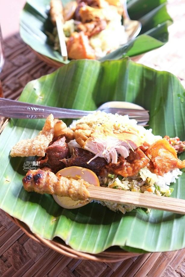 Nasi Campur Bali at Warung Teges Ubud Bali by Myfunfoodiary