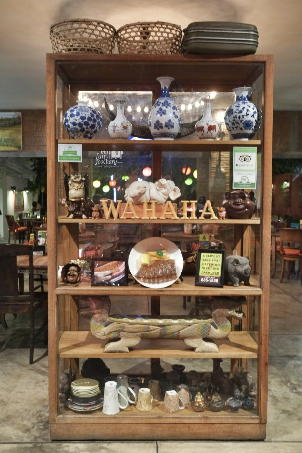Voted as best restaurant by Trip Advisor at Wahaha Pork Ribs Bali by Myfunfoodiary