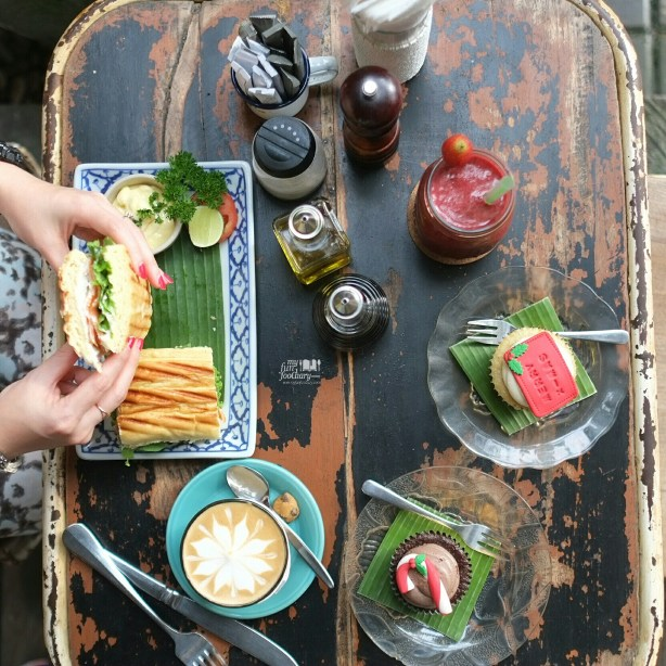 Afternoon Snack at Bungalow Living Cafe Bali by Myfunfoodiary
