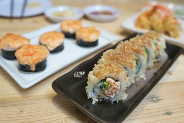 Crunchy Salmon Grill at Sushi Matsu BSD City Serpong 01